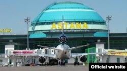 Международный аэропорт Астаны. Фoто из сайта www.esilastana.kz.