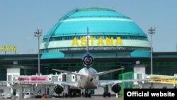 Астана әуежайы. Көрнекі сурет