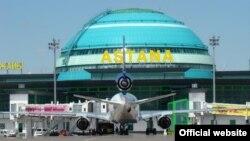 Астана халықаралық аэропорты. (Көрнекі сурет)