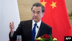 Chinese Foreign Minister Wang Yi pointed out that the sanctions resolution also calls for restarting six-party talks, a stalled dialogue process with North Korea that includes the United States, South Korea, Russia, and Japan. (file photo)