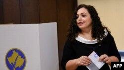 Vjosa Osmani, vršiteljica dužnosti predsjedničke funkcije Kosova i predsjedavajuća Skupštine