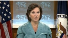 Iraq ß Spokeswoman for the U.S. State Victoria Nuland