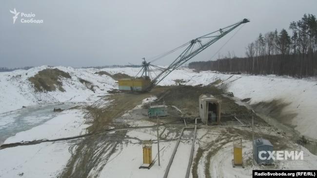 Кар'єр «Іршанського гірничо-збагачувального комбінату» в Житомирській області