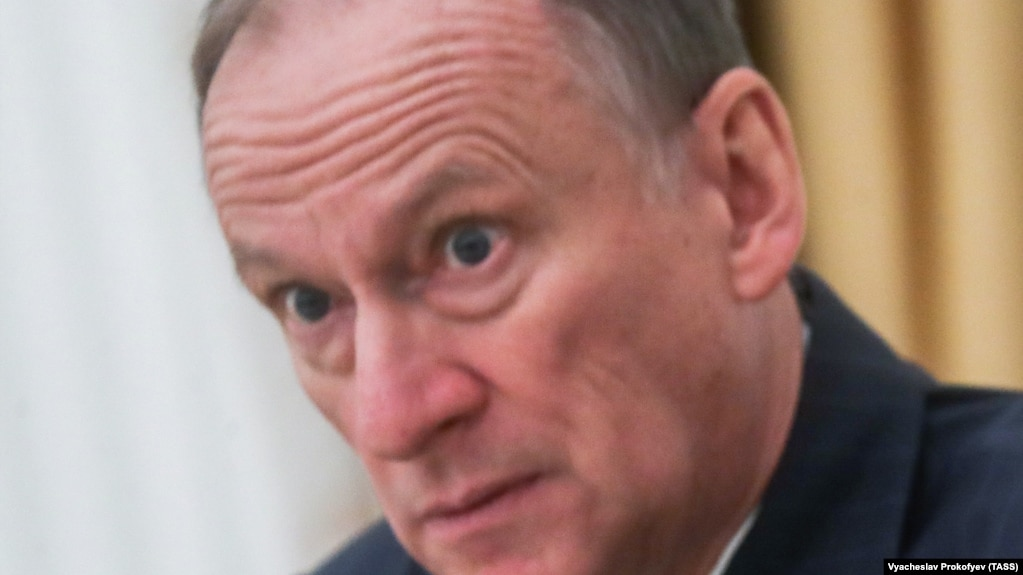Николай Патрушев, секретарь Совета безопасности РФ, бывший директор ФСБ России
