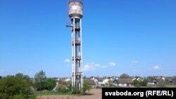 Воданапорная вежа ў Гожы