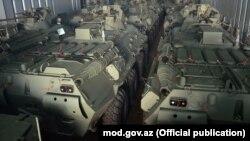 Azərbaycana Rusiyadan yeni partiya müasir hərbi texnika gətirilib. 19yan2018