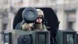Протитанкові установки Javelin, надані США, були представлені на параді до Дня незалежності України у 2018 році