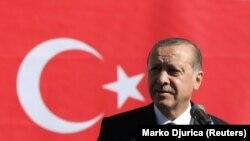 Архива - турскиот претседател Реџеп Таип Ердоган.