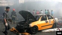 Shpërthim i mëhershëm në Bagdad, 25 Prill 2016.