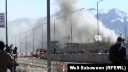 На місці одного з нападів у Кабулі 1 березня 2017 року