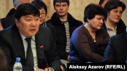 Бахытжан Жоламанов, начальник управления туризма города Алматы. Алматы, 11 января 2013 года.