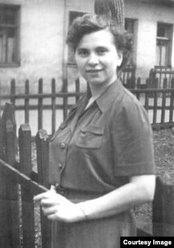 Наталия Белинкова, 1956, в год знакомства с Белинковым