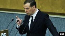 Выступление Д.А. Медведева в Государственной Думе 19 апреля 2016 года