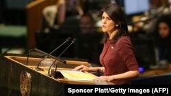 Ambasadorja amerikane në OKB, Nikki Haley