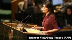 ABŞ-ın BMT-dəki Nikki Haley büdcənin ixtisarını alqışlayıb