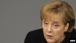 "German Chancellor Angela Merkel has backed the EMF proposal the EMF proposal, calling it ""good"" and ""interesting."""