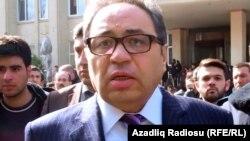 Azerbaijan -- Abel Maharramov, rector of Baku State University, 20Feb2014