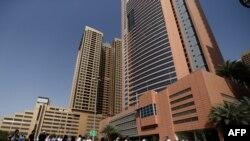 В деловой части города Дубай. Иллюстративное фото.