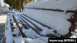 Температура минулої зими у Києві склала рівно мінус 2 градуси за Цельсієм, що на два градуси вище за кліматичну норму