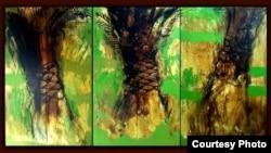 لوحة لهاني الدلة