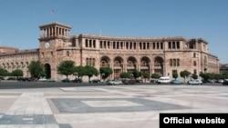 Հայաստան -- Կառավարության շենքը Հանրապետության հրապարակում, արխիվ