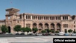 Здание правительства Армении а Ереване