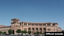 Armenia -- The Government building in Republic Square, Yerevan, undated