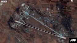 Авиабаза Шайрат в Сирии