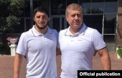 Абдулрашид Садулаев и Дзамболат Тедеев
