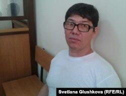Абдулла Темирбулат, брат подсудимого Руслана Темербулатова. Астана, 13 июня 2014 года.