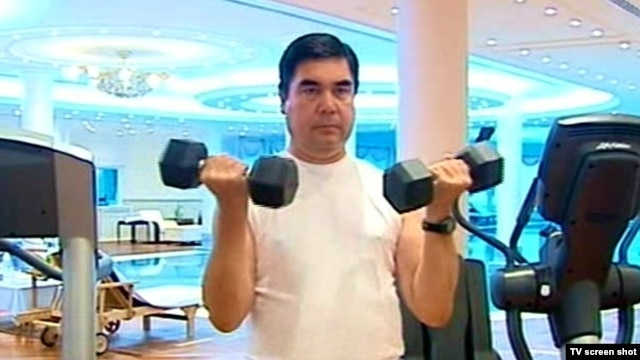 Turkmenistan's strongman leader Gurbanguly Berdymukhammedov