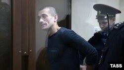 Петр Павленский в суде