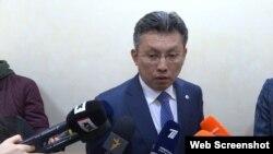 Министр финансов Казахстана Бахыт Султанов. Астана, 6 сентября 2018 года.