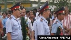 Погреб на еден од полицајците убиен во Акбот