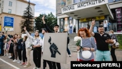 اعتراضهای مسالمتآمیز در سرتاسر بلاروس افزایش یافته است.