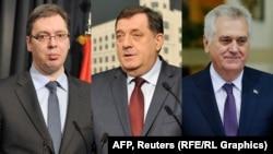 Vućić, Nikolić, Dodik