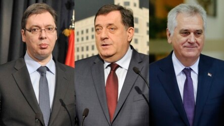 Aleksandar Vučić, Milorad Dodik i Tomislav Nikolić