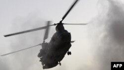 Вертолет НАТО в Афганистане. Иллюстративное фото.