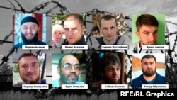 """Ekinci Bağçasaray """"Hizb ut-Tahrir davası""""nıñ iştirakçileri"""