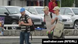 Туристы, Туркменистан