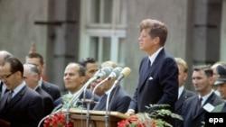 Джон Кеннеди в Берлине, 26 июня 1963 года.