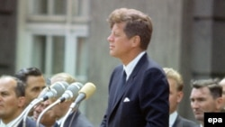 АҚШ президенті Джон Кеннеди. Берлин, 26 маусым 1963 жыл.