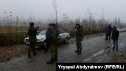 Кыргызские пограничники, иллюстративное фото.
