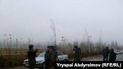 Кыргызско-узбекская граница. Село Сакалды. Ноокен.