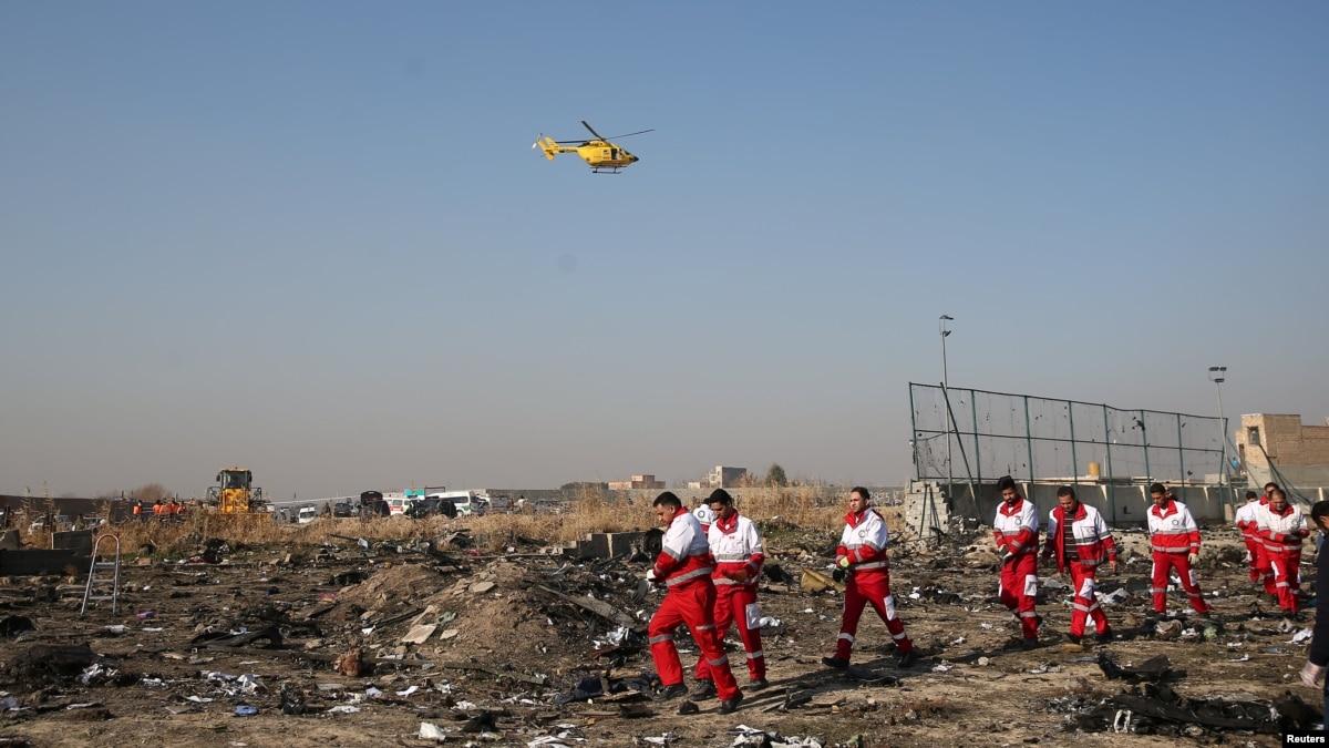 Львовская мэрия приспустила государственный флаг в связи с авиакатастрофой в Иране