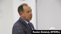 Александр Строчков, руководитель государственного коммунального предприятия «Городская недвижимость». Астана, 5 сентября 2016 года.
