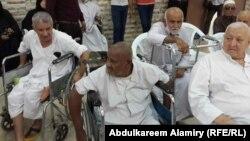 ي احدى دور المسنين في البصرة