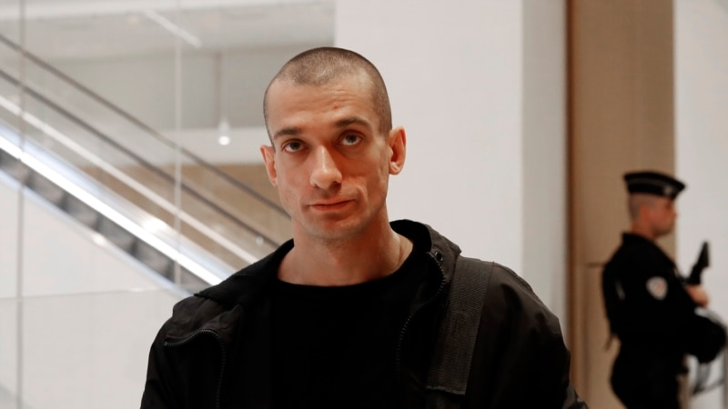French Court Sentences Protest Artist Pavlensky, But Lets Him Walk Free
