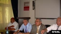 «Birlik» blokunu yaradanlar – (soldan sağa) Sabir Tanrıverdiyev, Ağadır Müslimov, Kamil Seyidov, Mail Dəmirli