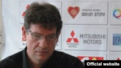 Марјан Лазовски, селектор на македонската кошаркарска репрезентација.